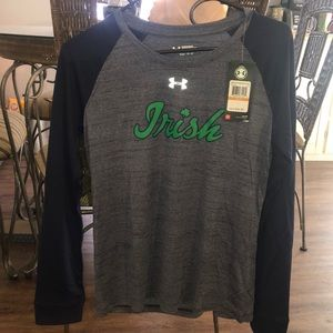 Under Armor ND T-shirt.  New with tags.
